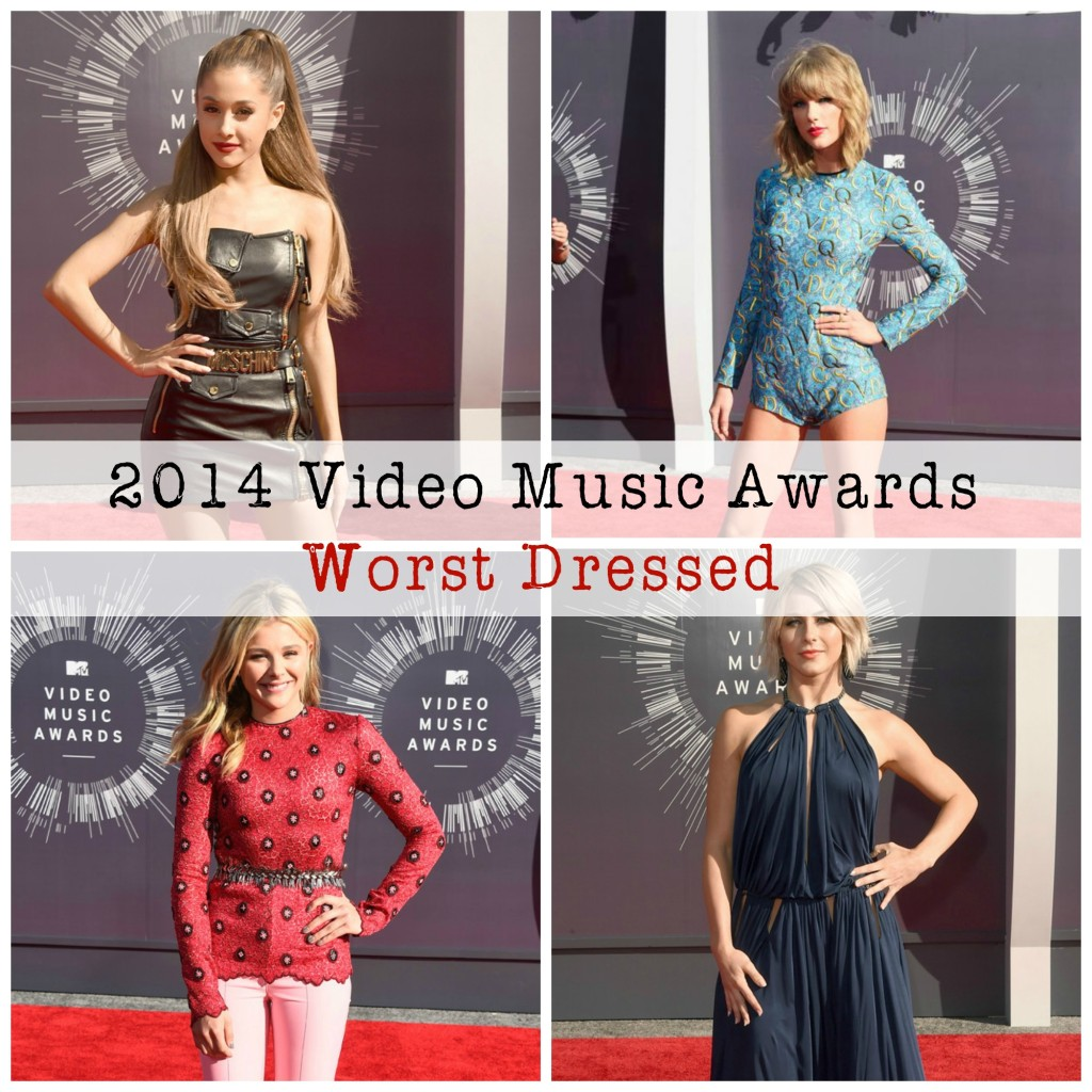 2014 Video Music Awards 10 Worst Dressed