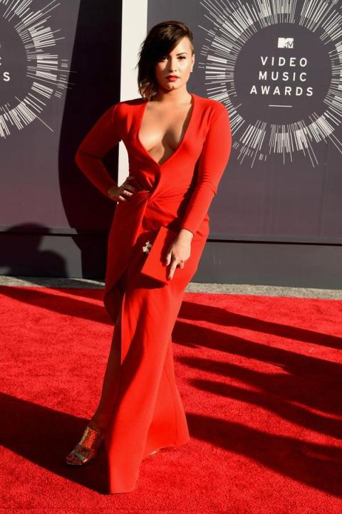 Demi Lovato at 2014 Video Music Awards