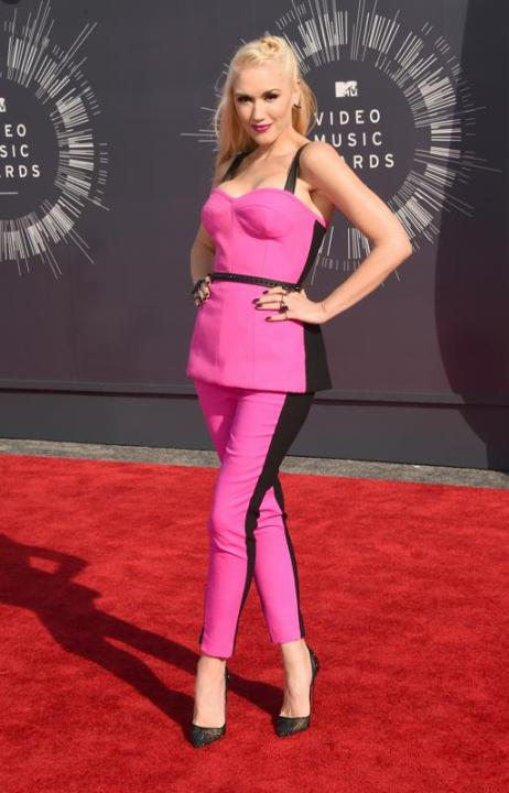 Gwen Stefani in LAMB at 2014 Video Music Awards, Best Dressed