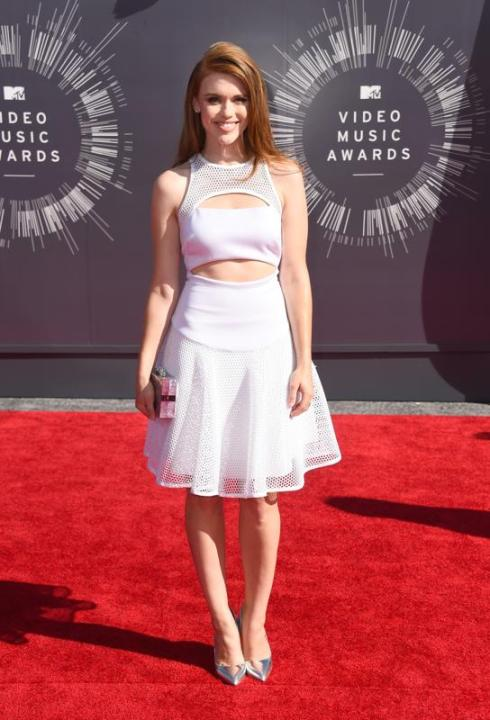 Holland Roden at 2014 Video Music Awards