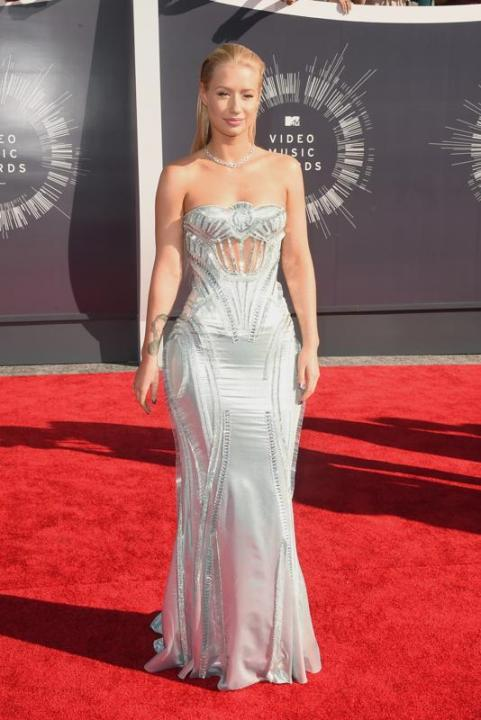 Iggy Azalea in Atelier Versace at 2014 Video Music Awards