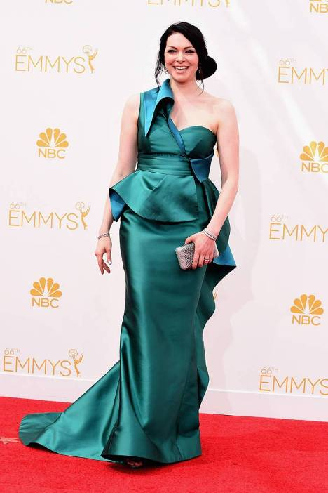 Laura Prepon at 2014 Primetime Emmy Awards, Worst Dressed