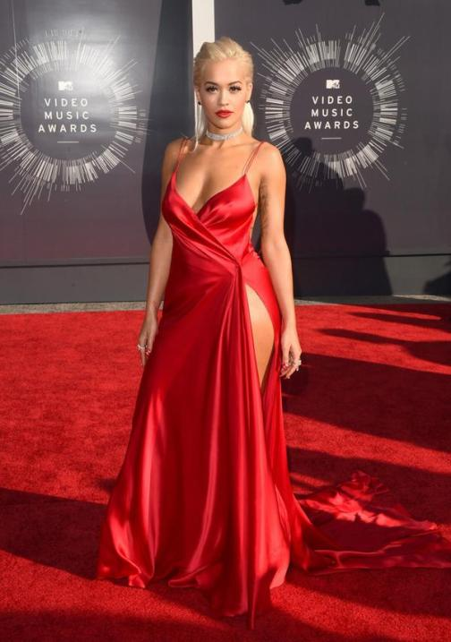Rita Ora in DKNY Atelier at 2014 MTV Video Music Awards, Best Dressed