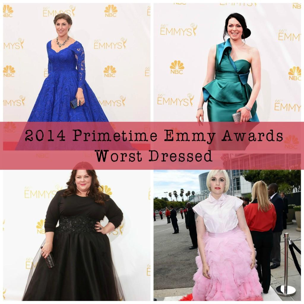 Worst Dressed of 2014 Primetime Emmys