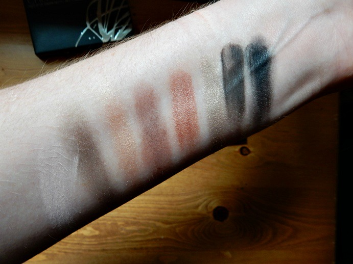 Smashbox Cherry Smoke Palette Swatches