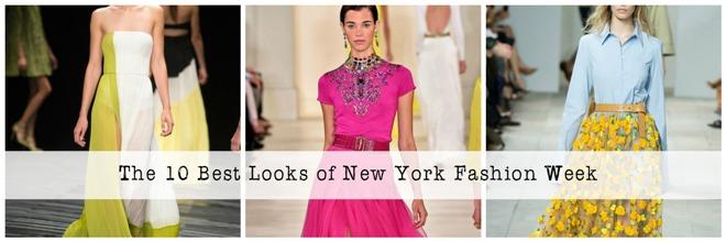 10 Best Spring 2015 Looks of New York Fashion Week