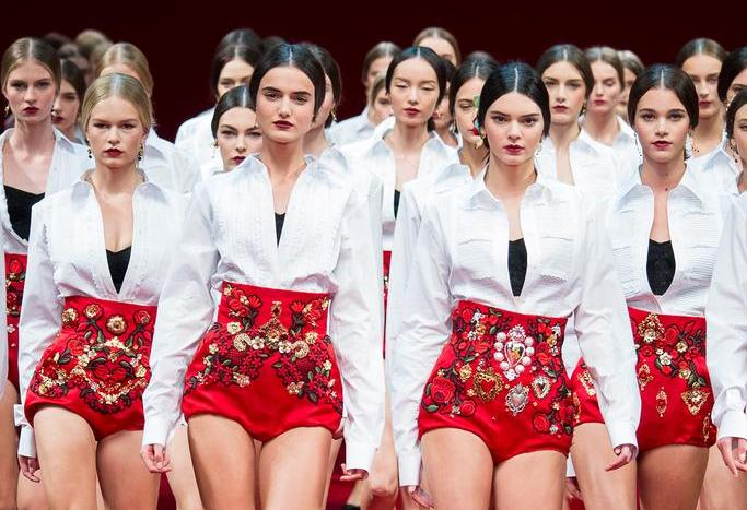 MFW : Dolce and Gabbana Spanish Fiesta for Spring 2015