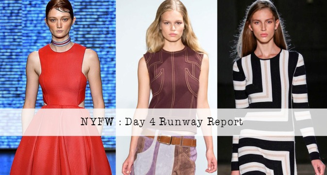 New York Fashion Week Day 4 Runway Report