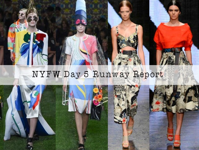 New York Fashion Week Day 5 Runway report