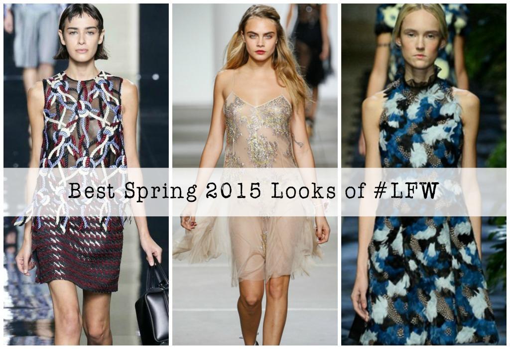 LFW : Best Spring 2015 Looks of London Fashion Week