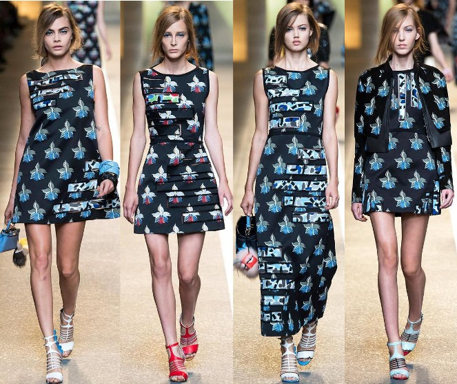 ac7e0fcca90 Fendi Spring 2015 RTW Collection at Milan Fashion Week ...