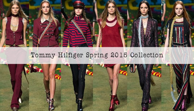 Tommy Hilfiger Spring 2015 Collection at New York Fashion Week