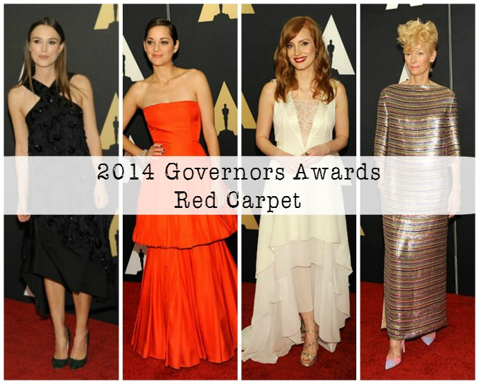 2014 Governors Awards Red Carpet