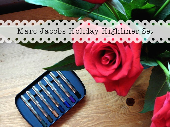 Marc Jacobs Holiday Highliner Gift Set review
