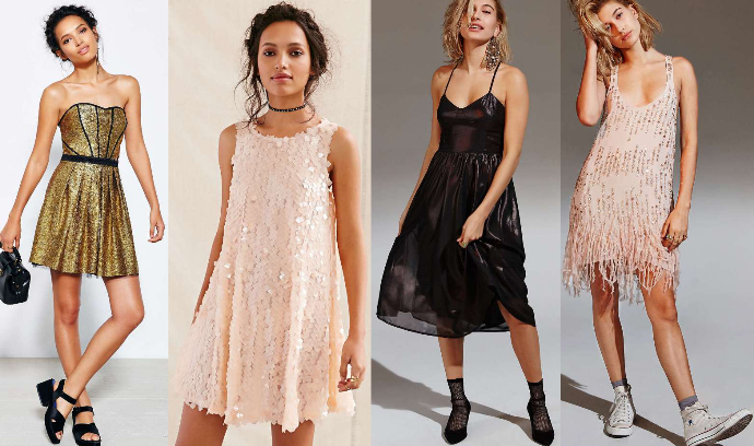 Holiday Party Dresses - Dream in Lace