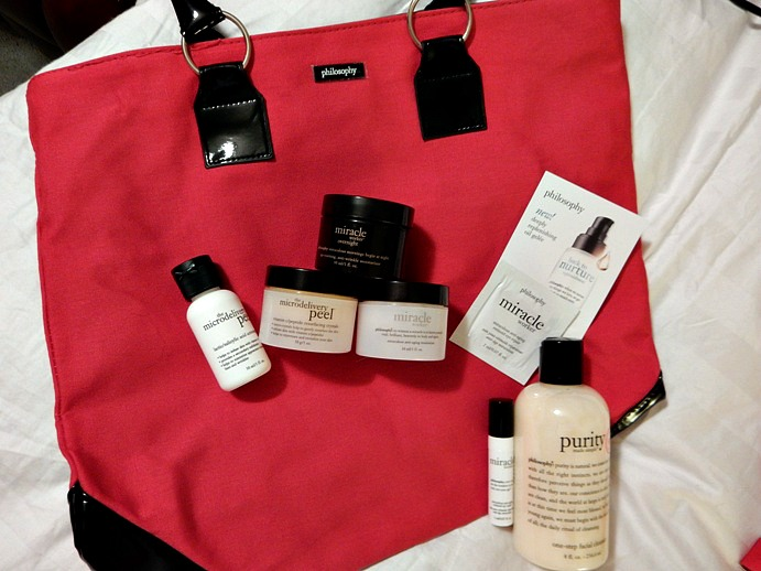 Philosophy Cyber-Monday Skincare and Bath Haul - Dream in Lace
