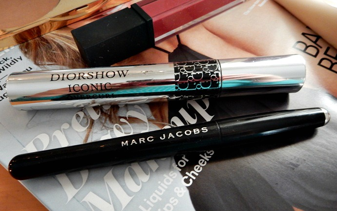 Dior Iconic Mascara and Marc Jacobs Eyeliner