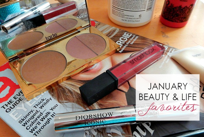 January Beauty and Life Favorites