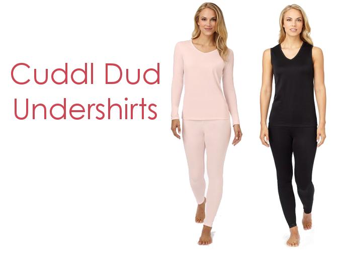 Cuddl Dud Undershirts for Winter