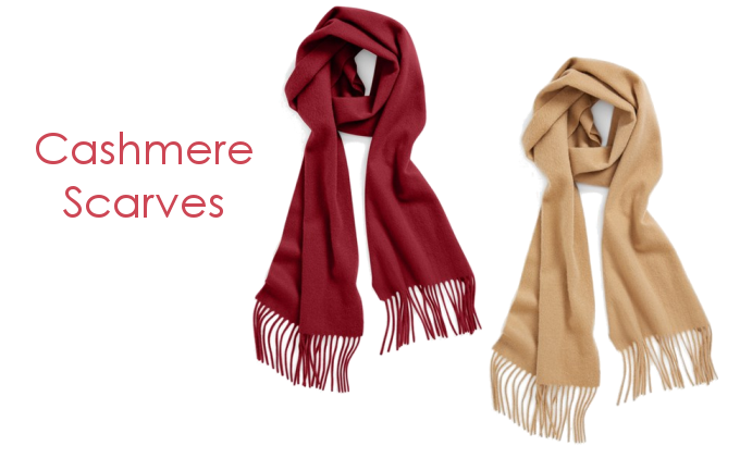 Nordstrom Cashmere Scares for Winter Fashion