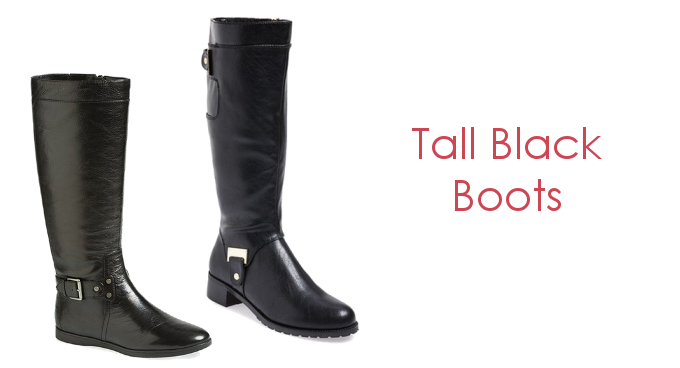 Tall Black Boots for Winter Fashion