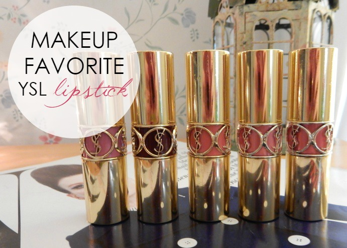 Makeup Favorite: YSL Lipsticks