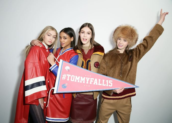 Tommy Hilfiger Fall 2015 Collection backstage
