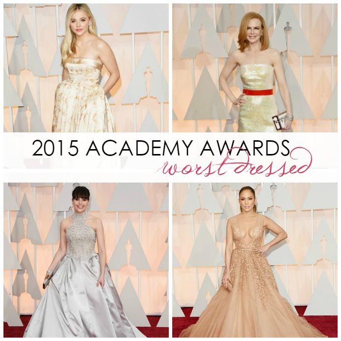 Worst Dressed List of 2015 Academy Awards - Oscars