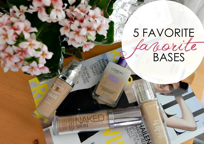 Beauty: 5 Best Spring/Summer Foundations