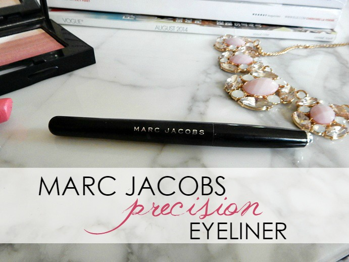 Marc Jacobs Precision Eyeliner Review