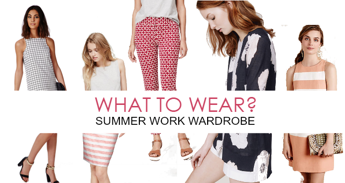 What to Wear to Work in the Summer Heat!