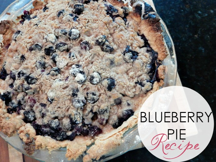 In the Kitchen: Best Blueberry Pie Recipe, Ever!