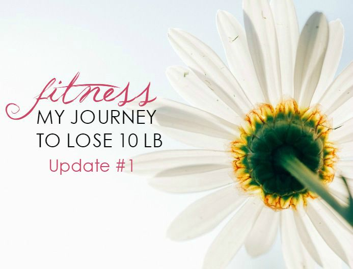Fitness: My Journey to Lose 10 Pounds – Update #1