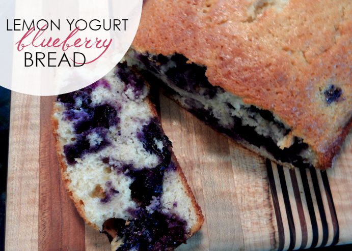 Recipe: Easy Blueberry Lemon Yogurt Bread