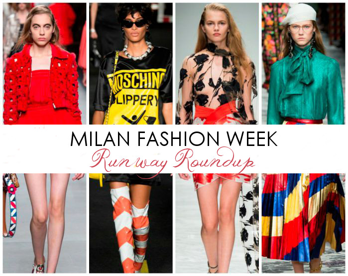 Your Milan Fashion Week 'Spring 2016' Cheat-Sheet