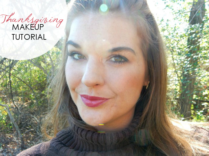 Beauty: A Warm, Thanksgiving Makeup Tutorial