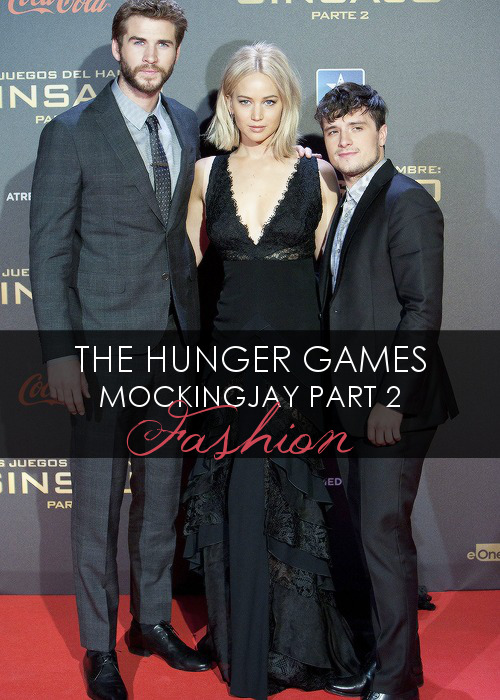 The Hunger Games Mockingjay Part 2 - Press Tour Fashion