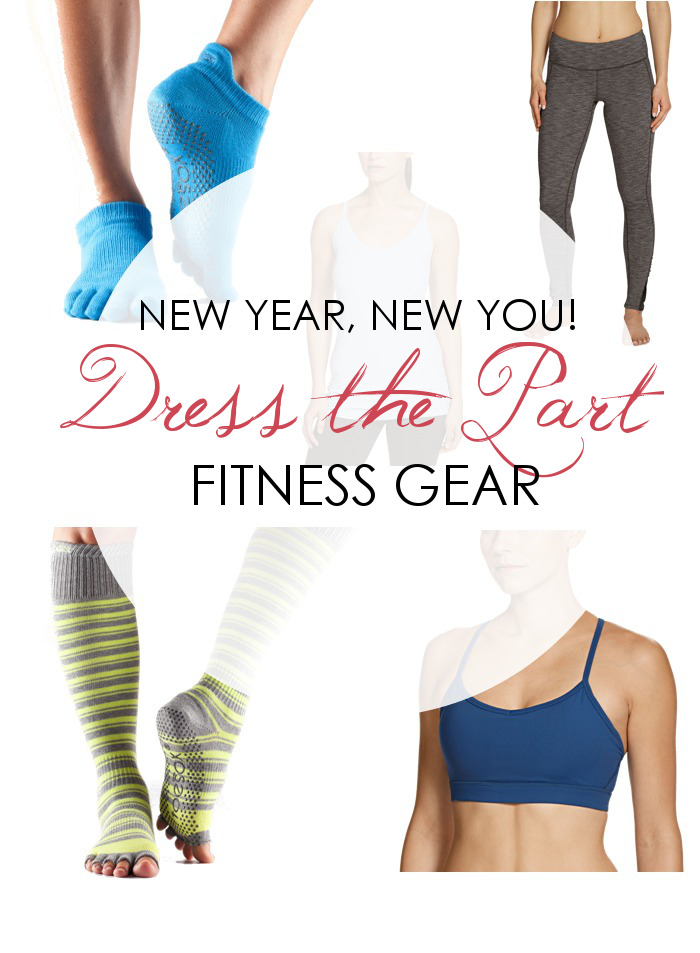 FITNESS: Dress the Part with New Athletic Gear!