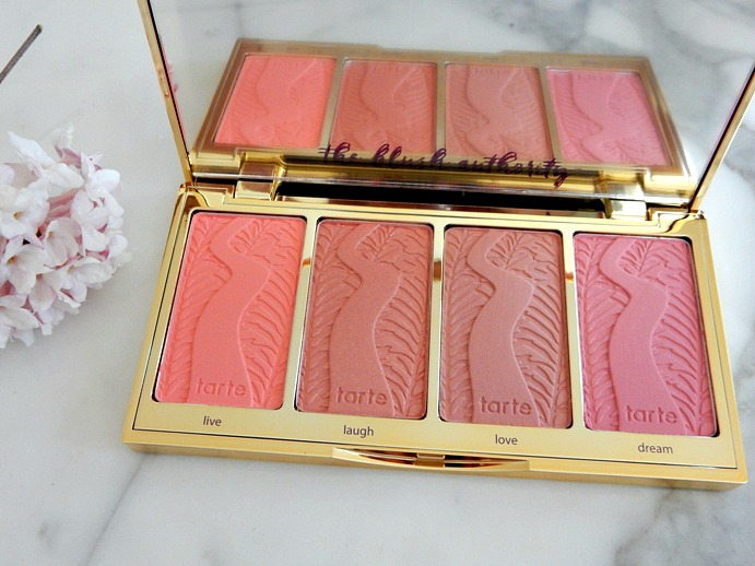 Tarte Cosmetics ' Tarteist' Blush Palette Shades - www.dreaminlace.com