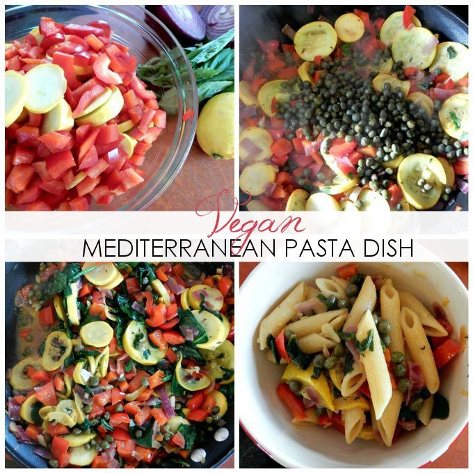 RECIPE: Vegan Mediterranean Pasta