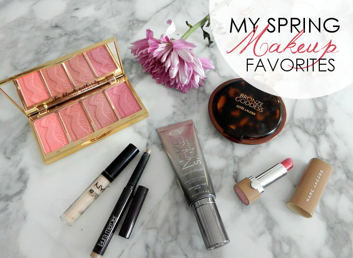 My Spring Makeup Favorites - Dream in Lace