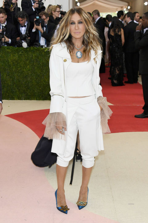 Sarah Jessica Parker in Monse at the 2016 Met Gala