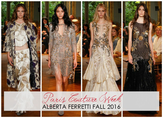 Alberta Ferretti Fall 2016 Haute Couture Runway - Paris Fashion Week