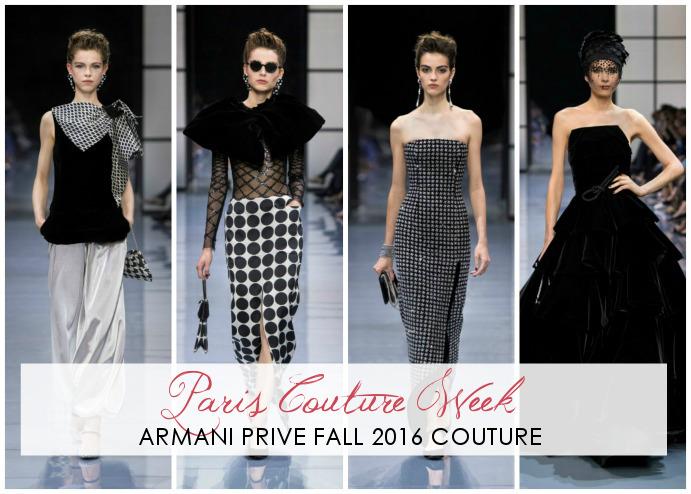 Armani Prive Fall 2016 Couture Runway - Dream in Lace