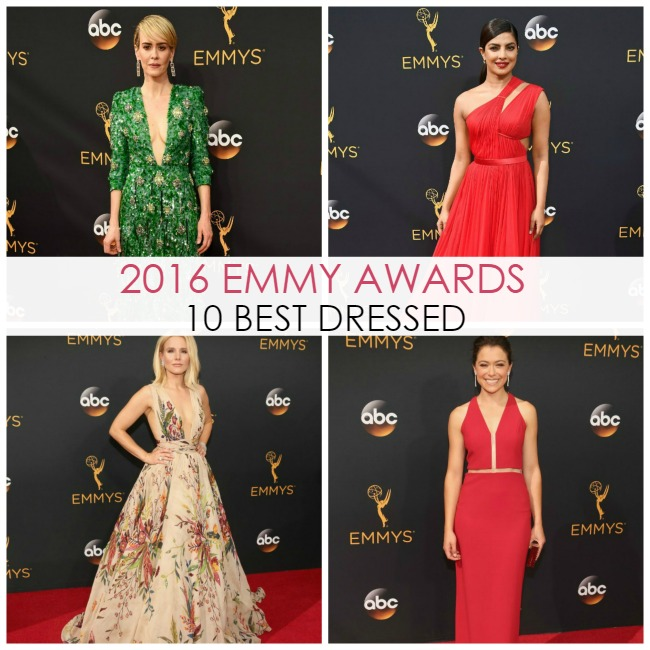 10 Best Dressed on the 2016 Emmys Red Carpet - Dream in Lace