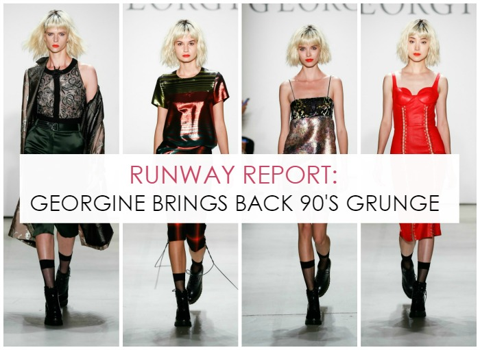 Georgine 90's Grunge Spring/Summer 2017 Collection - NYFW