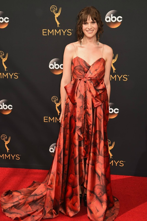 Hari Nef on the 2016 Emmy Awards Red Carpet - Dream in Lace