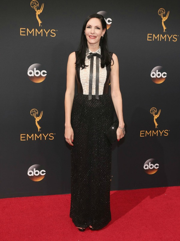 Jill Kargman in Valentino on the 2016 Emmy Awards Red Carpet - Dream in Lace
