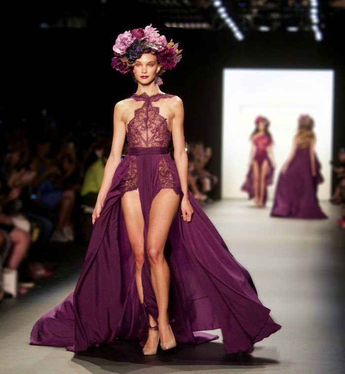 Most Anticipated Shows of NYFW I Michael Costello Spring 2016 Runway #NYFW #MichaelCostello