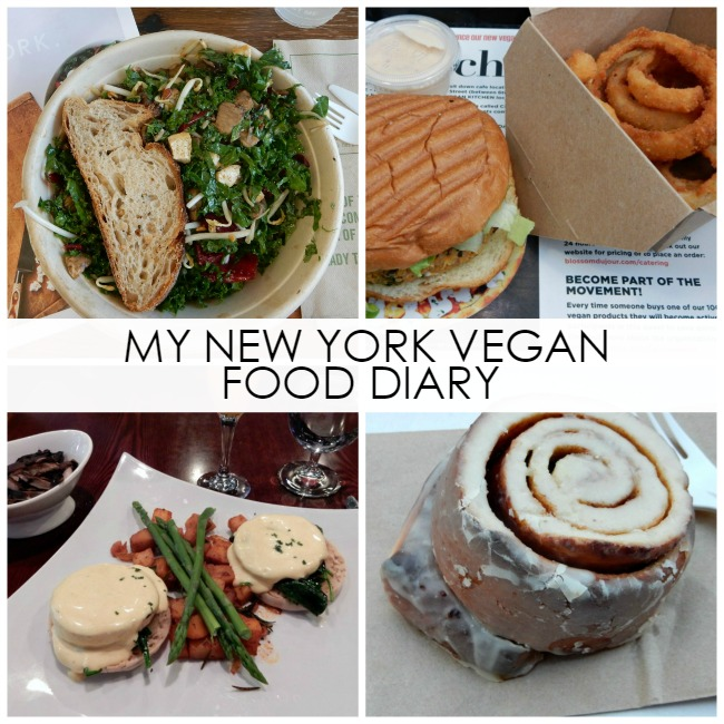 FOODIE: My New York City Vegan Food Diary